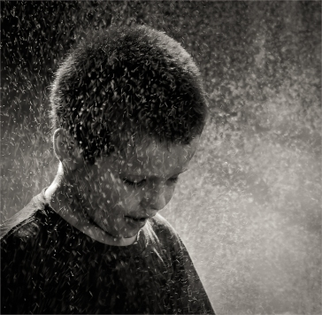Lachlan in the Rain