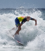 Freddy Patacchia surfs the Roxy Pro Gold Coast
