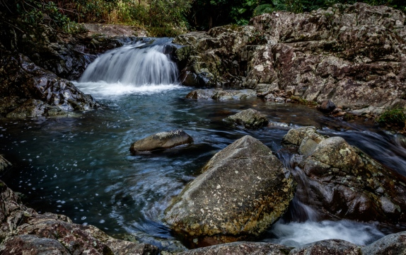 Mt.Cougal Waterfall